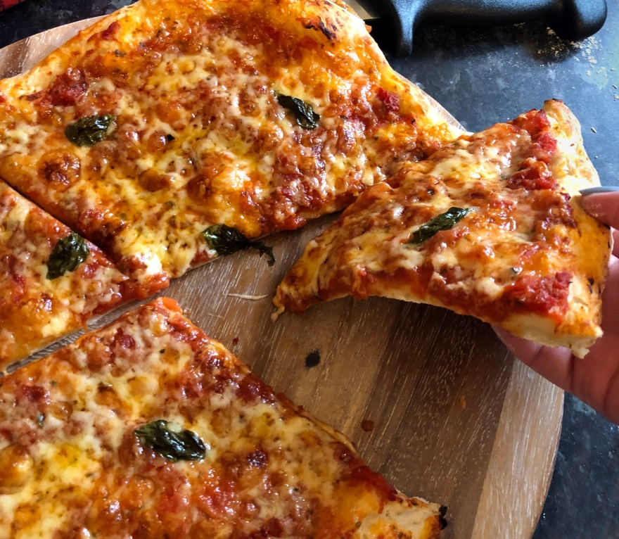 Cotswold flour pizza slice