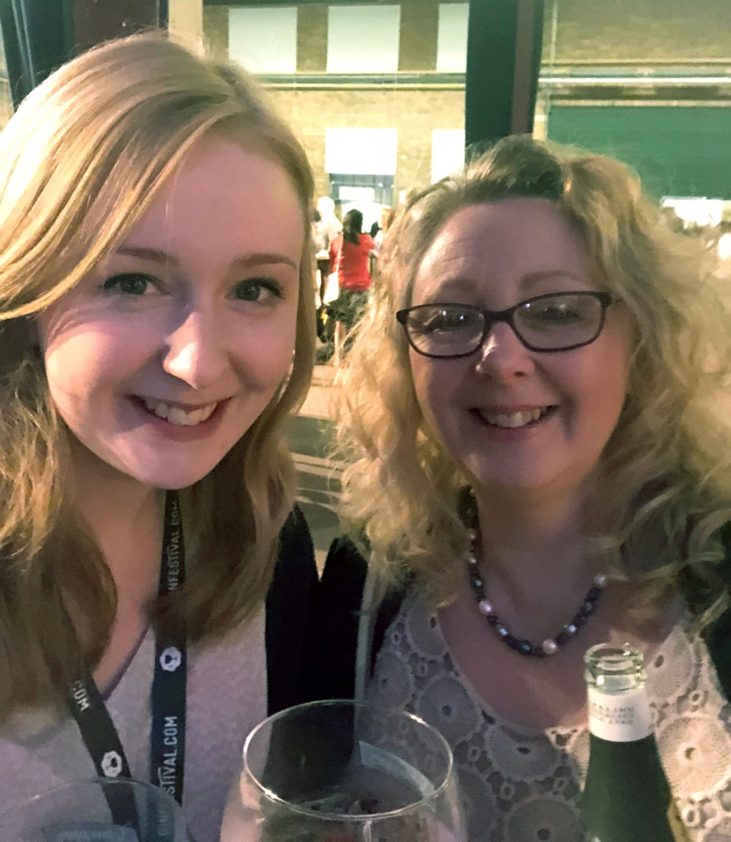 Our selfie at gin festival