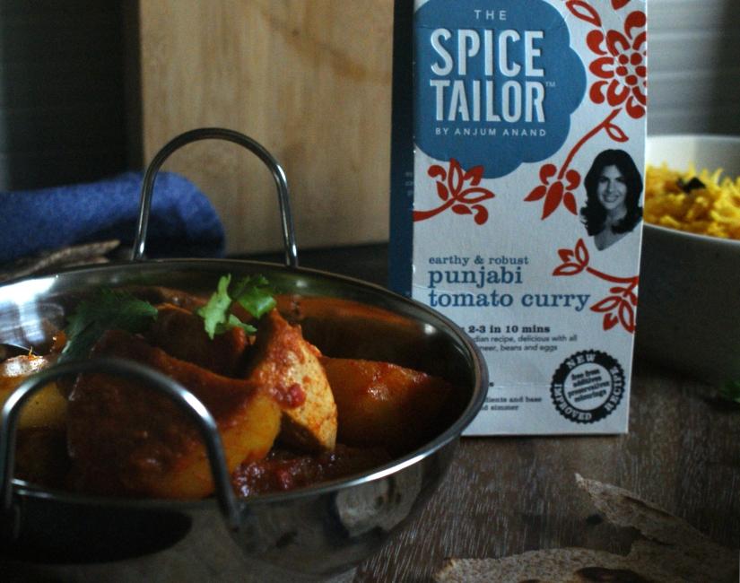 Punjabi tomato curry sauce